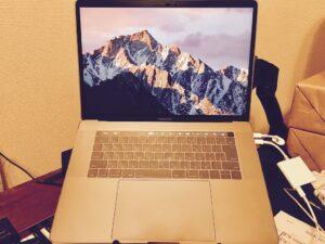 MacBook Pro 2016 TouchBarモデル