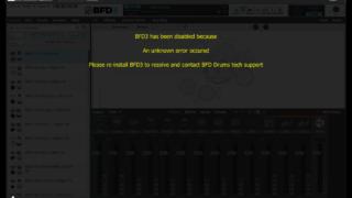 BFD3.4がエラーで使えない時の解消方法