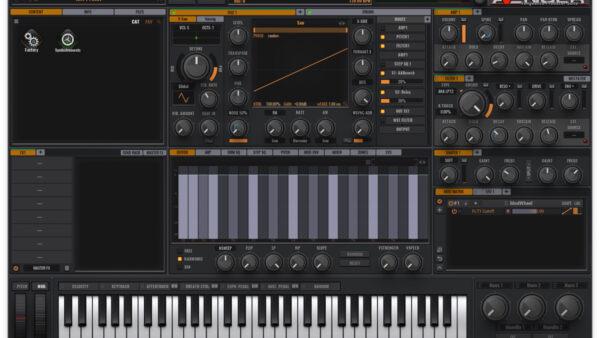 リリースカットピアノを作るために使用したVENGEANCE SOUND AVENGER